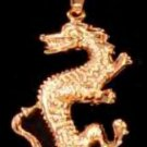 Dragon Pendant In Gold Or Rhodium LG-87