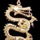 Large Dragon Pendant In Gold Or Rhodium jmb-30