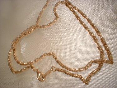 14K Gold Layered Ornate Chain 18 Inch 47-C