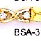 November Birthstone Yellow Topaz CZ Bracelet BSA-31