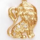 LEO, July 23 To August 22 Astrology CZ Pendant CZP-808