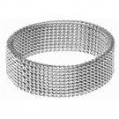 Stainless Steel Mesh Ring SR-369 B