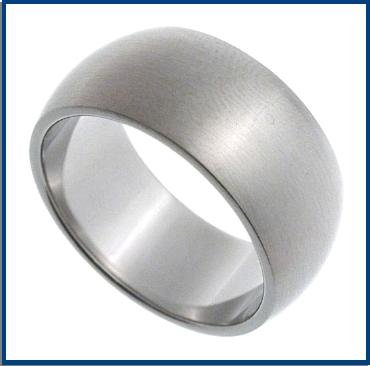 Stainless Steel Wedding Band Ring M32-AS0022