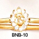 Russian CZ Bangle Bracelet BNB-10