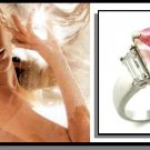 J-LO Inspired Pink Engagement Ring 6X036-A