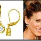 Sara Parker's  Leverback Earrings CZE-285