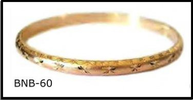 Bangle Bracelet In Gold  Layering  BNB-60