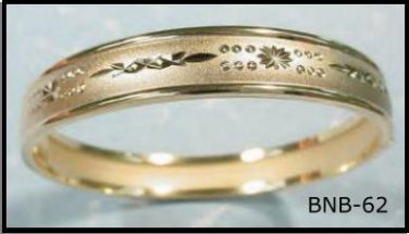 Bangle Bracelet In Gold Or Rhodium Layering  BNB-62