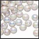 Pearl White AB Acrylic Bead Dividers 8 mm  H20-2754PB