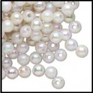 Pearl White AB Acrylic Bead Dividers 6 mm  H20-2744PB