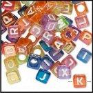 Baby Alphabet Blocks Multi Colored H20-5424PB  4 Pieces
