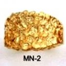 Nugget Ring Gold Layered MN-2