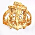 Marriners Cross Ring Gold Or Rhodium Layered MN-19