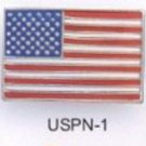 American Flag Pin Enameled USPN-1