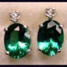Mt St Helens Oval 8x6 Stud Earrings SHE-1