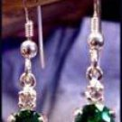 Mt St Helens Oval 8x6 French Wire Earrings SHE-2