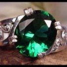 5.30 Carat Oval Helenite Filigree Ring SHRFIL-2