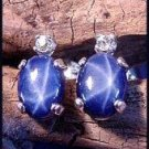 Star Sapphire 10x8 Post Earrings SSE-3
