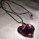 Rhinestone Sparkling Multi Colored Heart CH-HRT-1