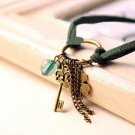Fashion Suede Leather Key Bracelet