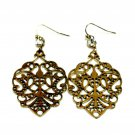 Vintage Hollow Out Decorative Pattern Earrings