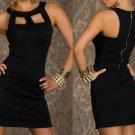 Sexy Cocktail Dress - 31045D - Black