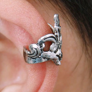 Ear-cuff 11022-EC - Silver