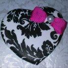 Heart Shaped Lapel Pin