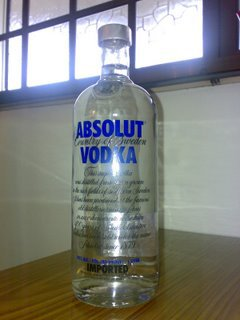 Absolute Vodka Original~
