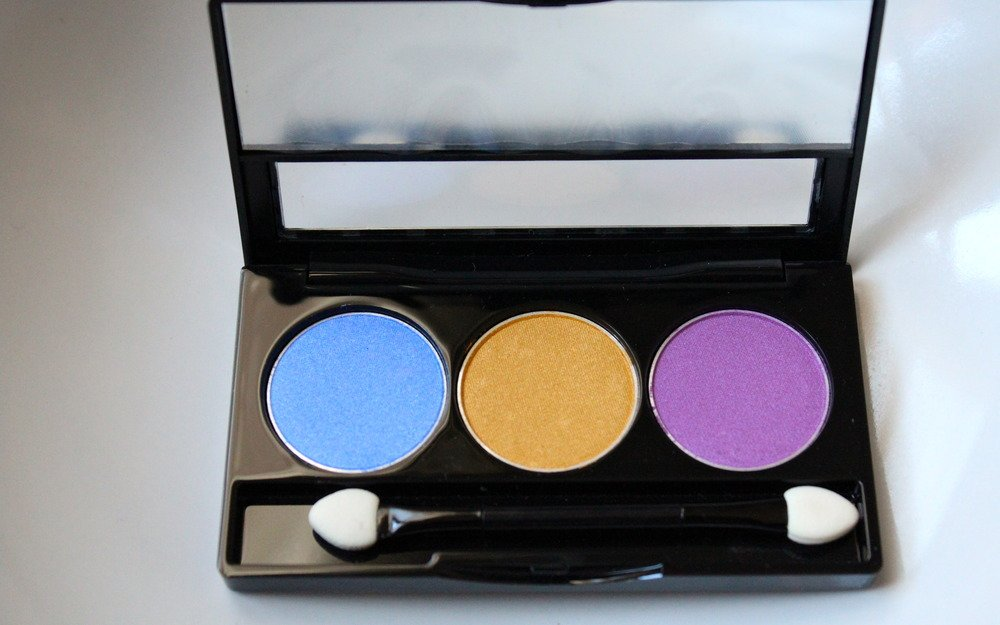 NYX Eyeshadow Trio- (33) Lake Moss (Discounted)
