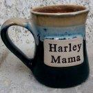 Stoneware Harley Mama Coffee Cup