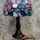 Stain Glass Floral Design Nightlight Nightlite Lamp