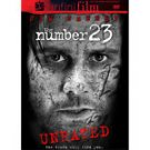 The Number 23 (DVD, 2007, Unrated & Theatrical Versions)