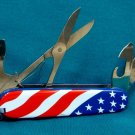 Swiss Victornox Officer Flag Knife