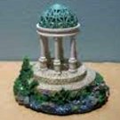 Thomas Kinkade Painter of Light The Garden of Prayer Miniature Gazebo Sculpture