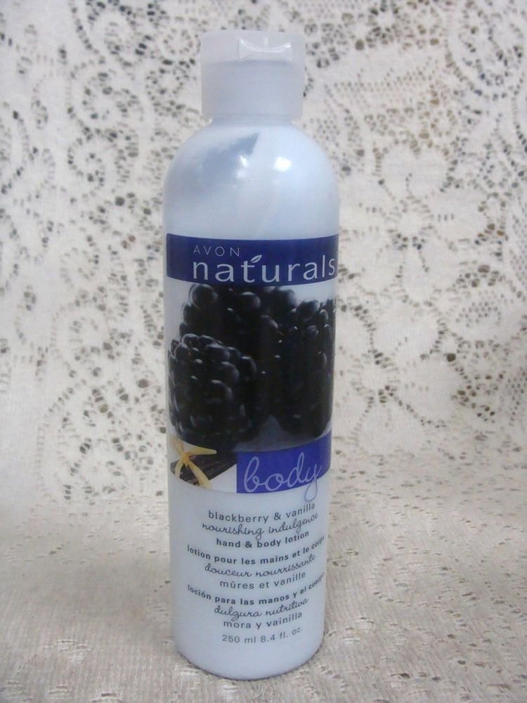 Avon Naturals Blackberry & Vanilla Body Lotion 8.4 oz,