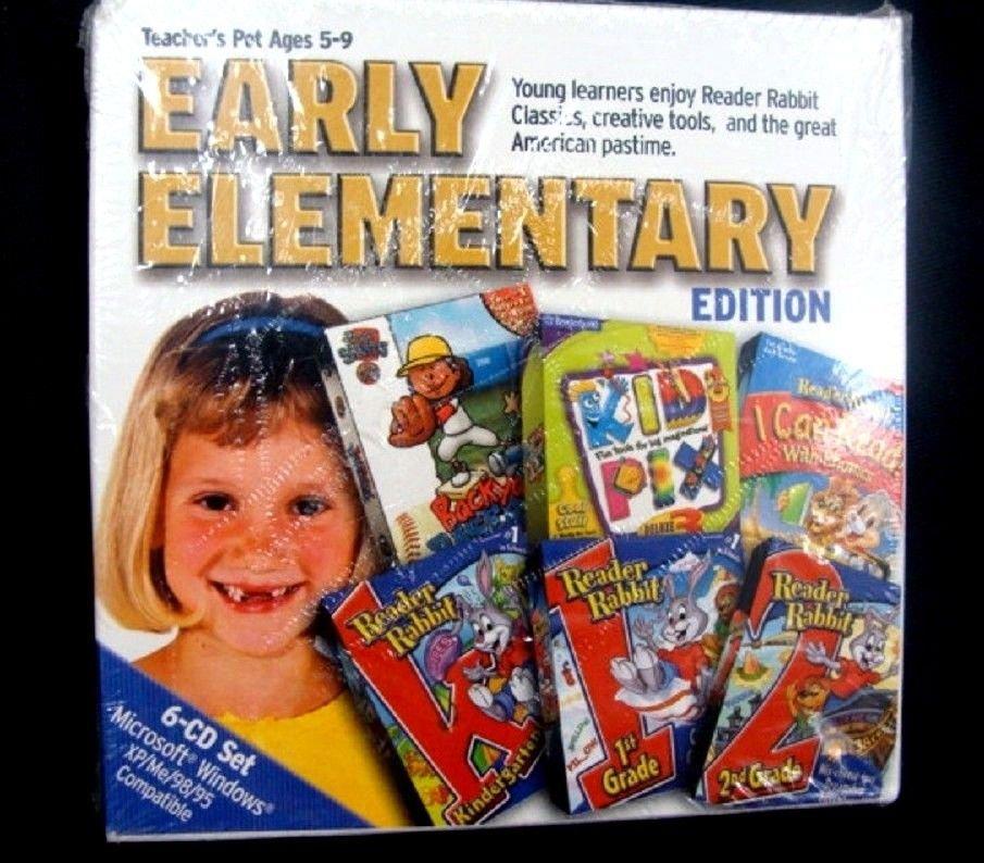 Teachers Pet Early Elementary Edition 6-CD Set Microsoft Windows