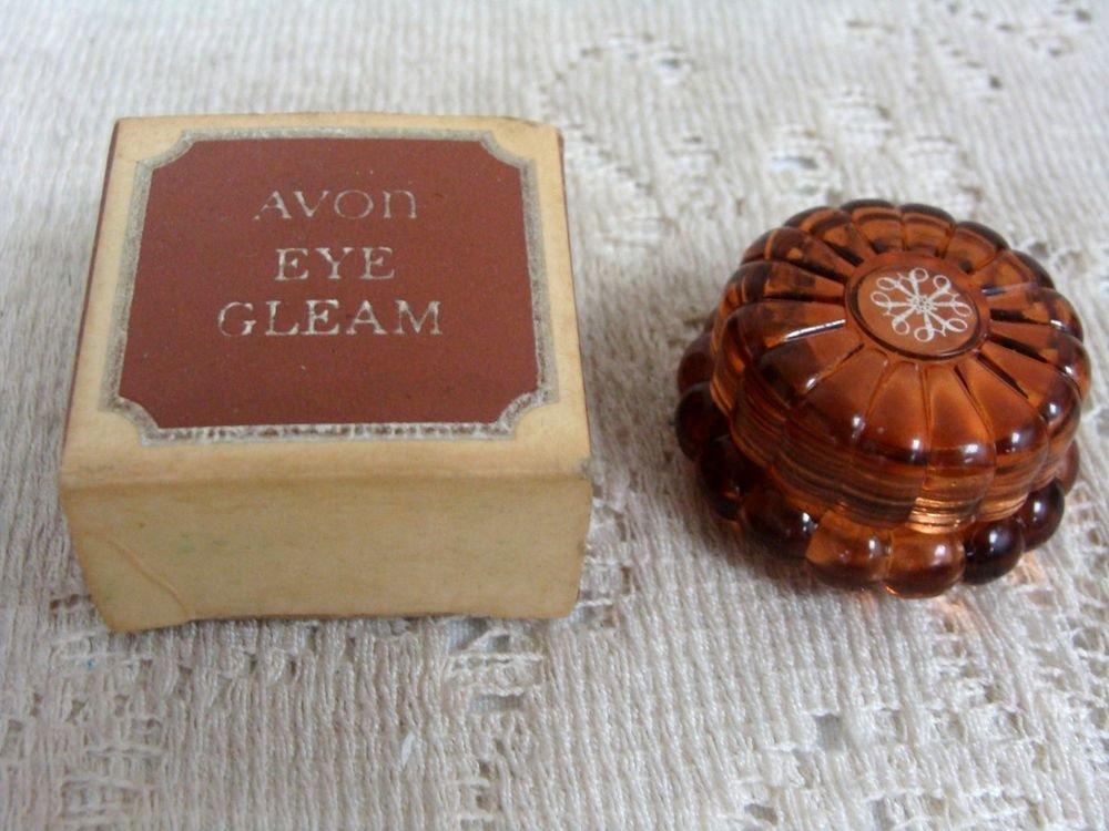 Avon Vintage Collectible Eye Cream Container