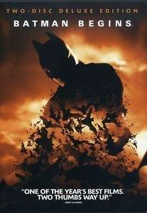 Batman Begins (DVD, 2005, 2-Disc Set, Deluxe Edition) NEW!