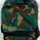 Camouflage Backpack Reversible Unisex Bag
