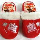 High School Musical Red Slippers Kids Size 13