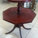 Antique Solid Wood  2 Tier Table