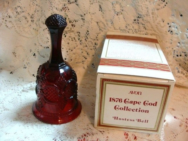 CAPE COD COLLECTION BY AVON HOSTESS BELL NIB! L@@K!