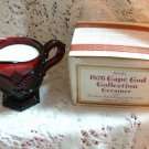 AVON CAPE COD CREAMER WITH MEADOW MORNING CANDLE NIB!