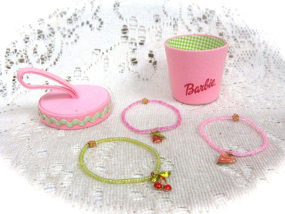 Barbie Beaded Bracelets Set - (NEW)
