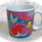 Disney Mermaid Mug w/ Seahorse & Dolphin