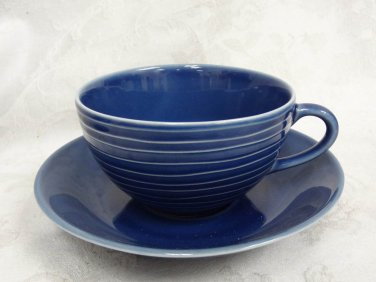 Design Stockholm Blue House Cup & Saucer Set