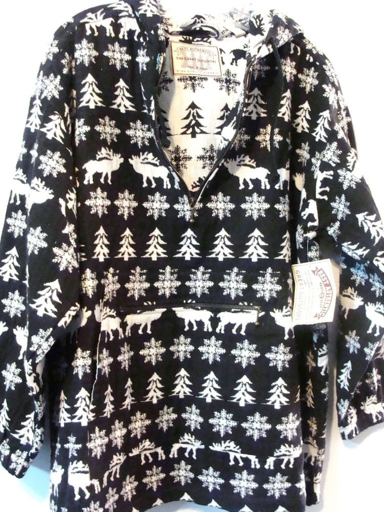 CHRISTMAS HOLIDAY HOODIE JACKET SWEATER - (NEW)