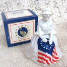 Avon Betsy Ross Figurine Sonnet Cologne 4 oz.