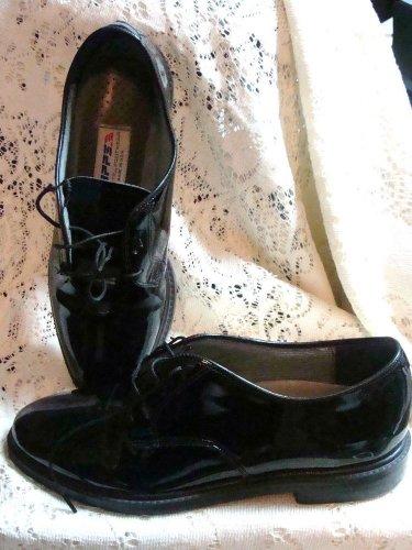 PRIMO BOYS MENS DRESS DESIGNER BLACK SHOES NEW